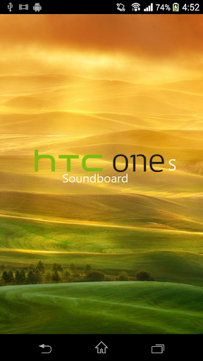 HTC One S Soundboard
