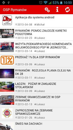 OSP Rymanów