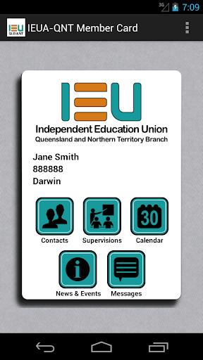 IEUA-QNT Member Card