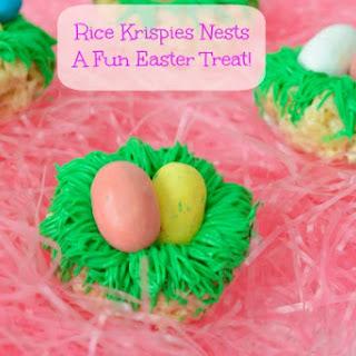 Rice Krispies Bird Nests – a Fun Easter Treat