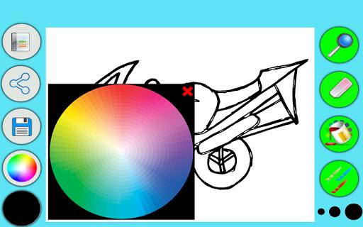 摩托车着色|玩教育App免費|玩APPs