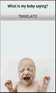Baby Translate- screenshot thumbnail