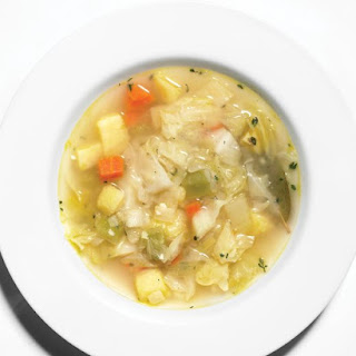 Cabbage-Vegetable Soup.