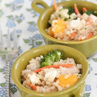 Mango Chicken Quinoa Salad.
