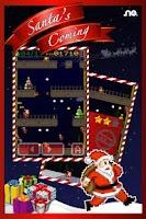 Screenshot of Santa's coming: run & jump