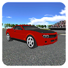 Muscle Car Racing 3D simulador icon