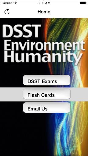 DSST Environment Humanity