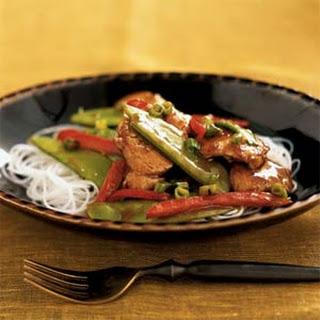 Hoisin Pork and Snow Pea Stir-Fry
