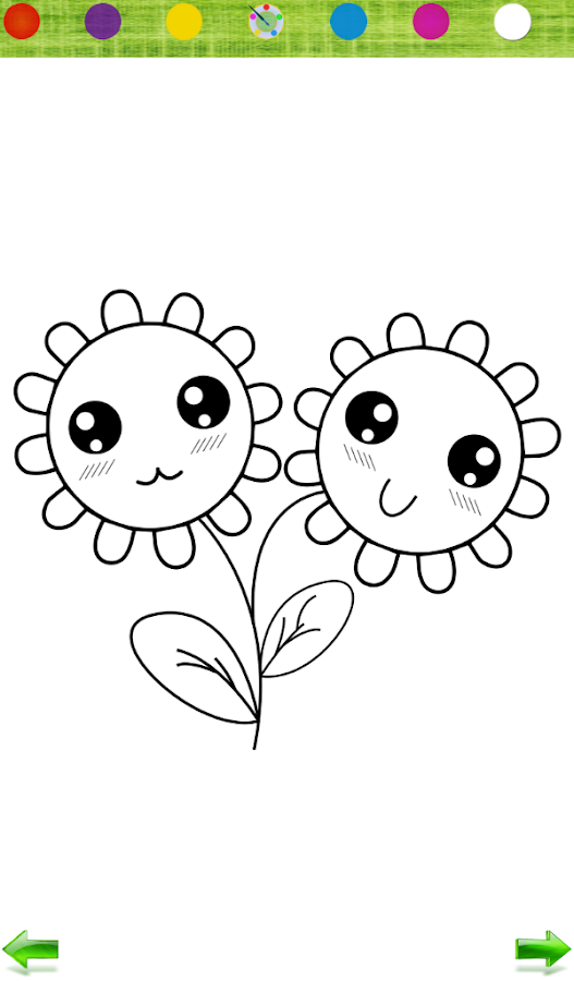 Coloring: Flowers for Girls - Android Apps on Google Play