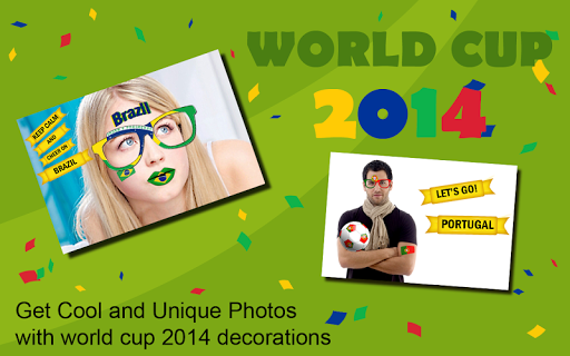 World Cup 2014 Sticker Camera