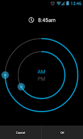 CircleAlarm (Holo Alarm Clock) Screenshot 2