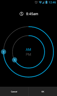 CircleAlarm (Holo Alarm Clock)- screenshot thumbnail