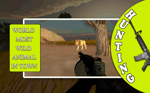 Hunter in Jungle 3D