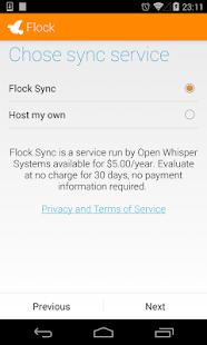 Flock - screenshot thumbnail
