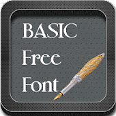 Basic Free Fonts for Galaxy