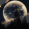 Earth and Moon Live Wallpaper logo
