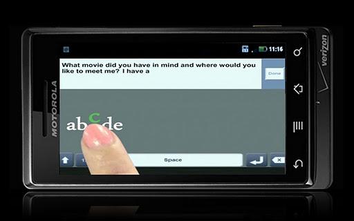 TouchText Software 1.0