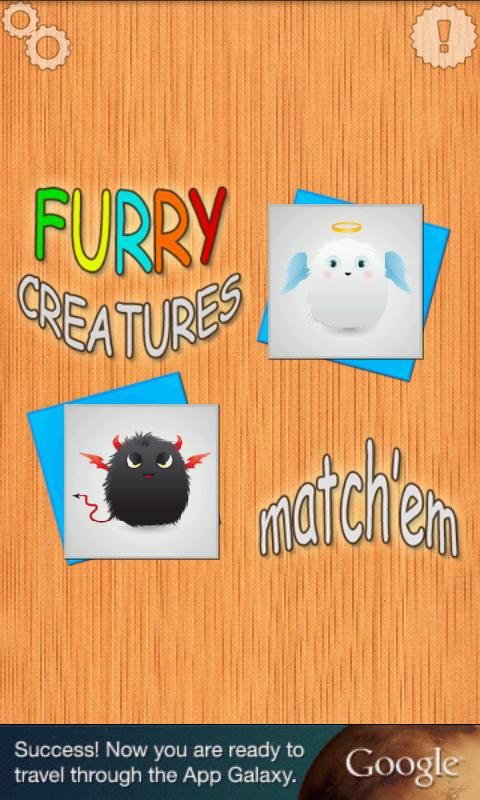 Furry Creatures Match'em - screenshot