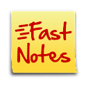 FastNotes Widget – Donation logo