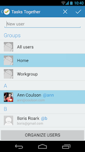 Tasks Together screenshot