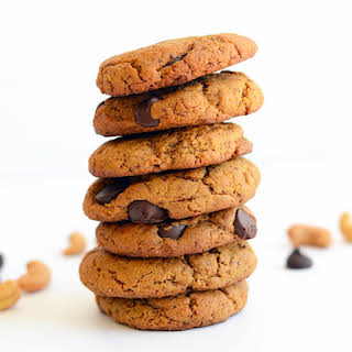 Cashew Butter Chocolate Chip Cookies.