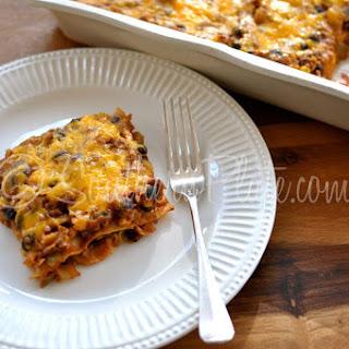 TexMex Lasagna.