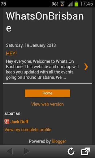Whats on Brisbane