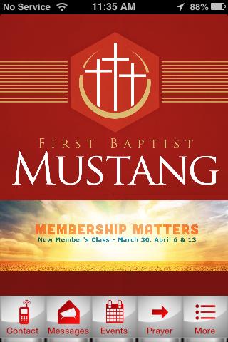 First Baptist Mustang