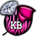 KB SKIN - ZebraPinkDiamonds3 icon