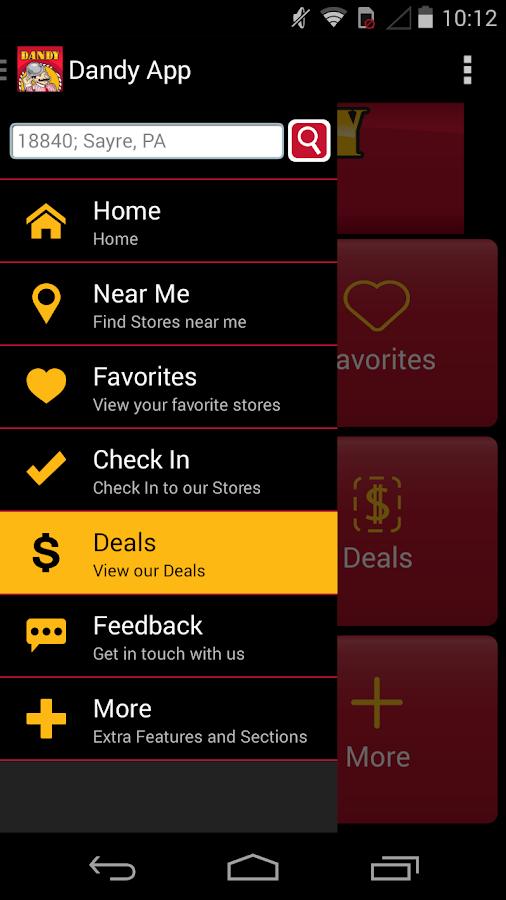 Dandy App - screenshot