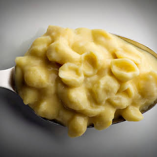 Stovetop Macaroni and Cheese.