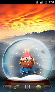 Santa Bobble Live Wallpaper- screenshot thumbnail