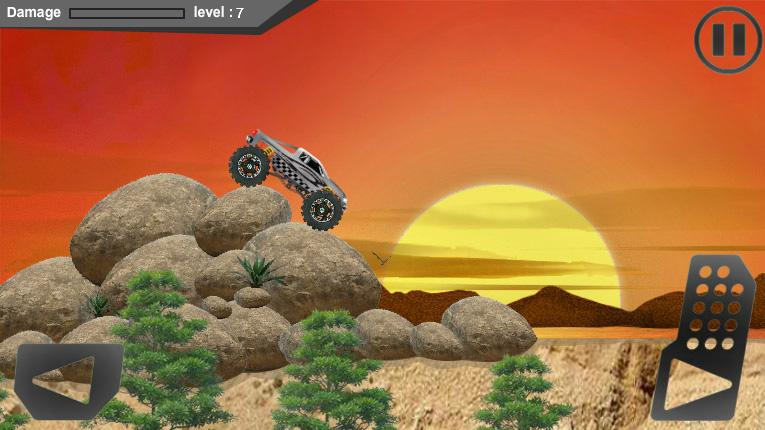 4x4 Monster Racing- screenshot
