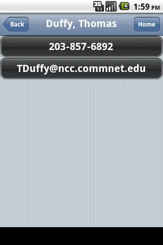 NCC Connect- screenshot