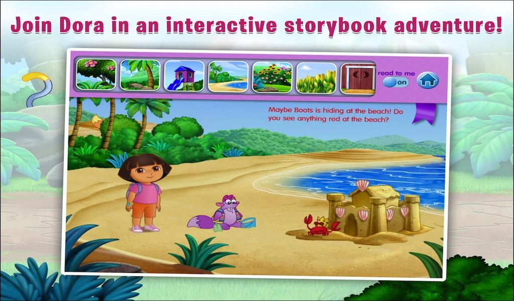 Dora the Explorer Find Boots Android Apps on Google Play