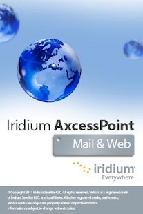 Iridium AxcessPoint Mail & Web - screenshot thumbnail
