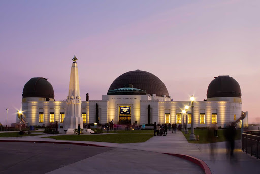 griffin-observatory-los-angeles - The Griffin Observatory in Los Angeles,