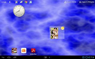 Screenshot of Face Weather