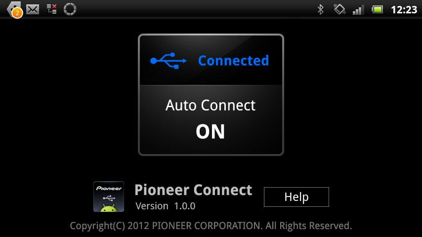 Pioneer Connect - screenshot