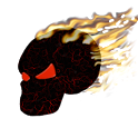 Burning Skull Wallpaper icon