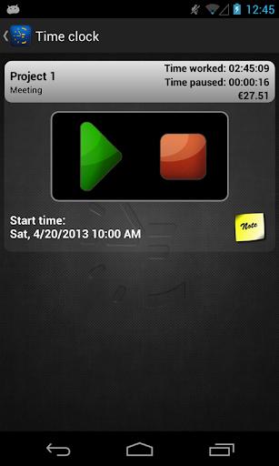 【免費商業App】Timesheet - time tracking-APP點子