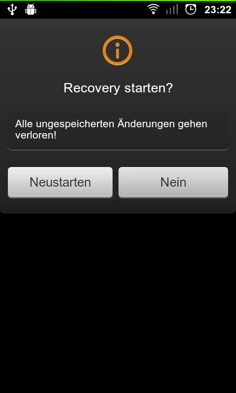 Reboot to recovery [ROOT] - screenshot