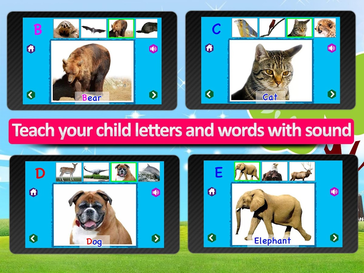 Kids Animal ABC Alphabet sound- screenshot
