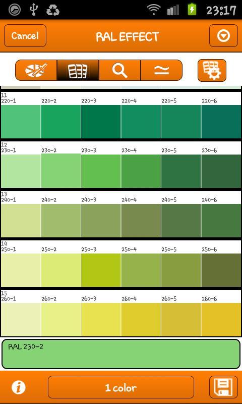 Ae Colour Code Paint