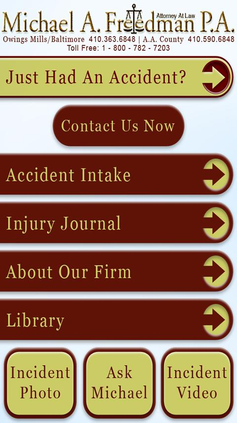 Personal Injury Assistant- screenshot