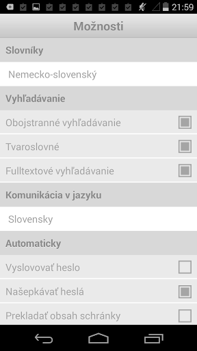 German-Slovak Dictionary Plus