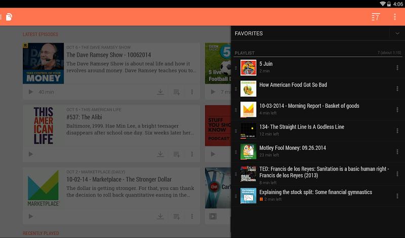 BeyondPod Podcast Manager Screenshot 12