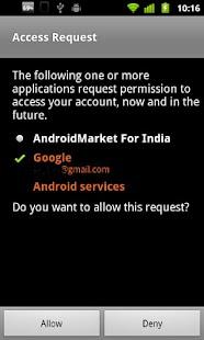 India Android Market - screenshot thumbnail