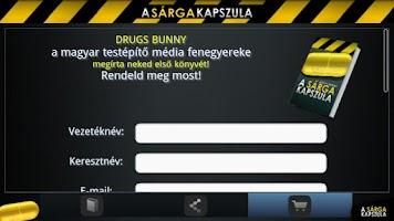 Screenshot of Sárga Kapszula