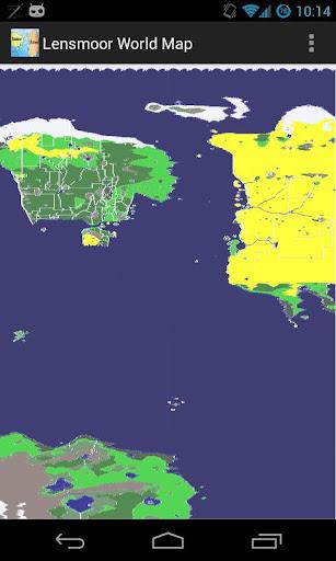Lensmoor World Map